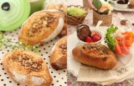 ピリッと大人のアンチョビチーズパン