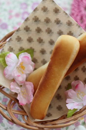 酒粕風味のスティックパン