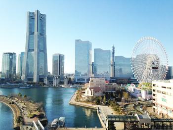 横浜おうちパン教室みなとみらい風景