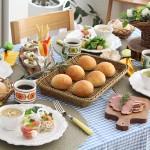 横浜おうちパン教室テーブルコーディネート