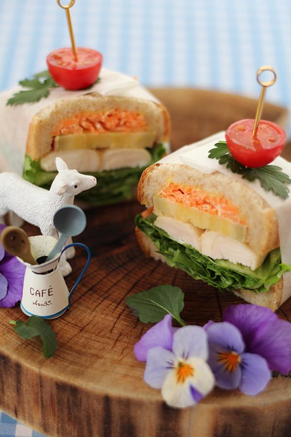 横浜おうちパン教室サンドイッチ