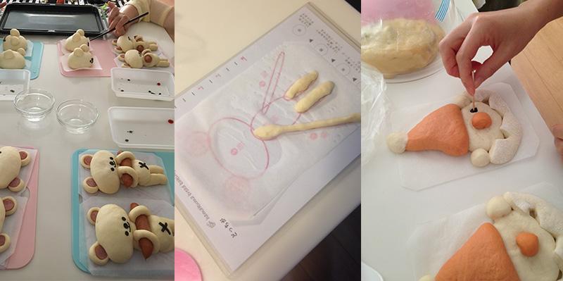 横浜おうちパン教室クマパン型紙