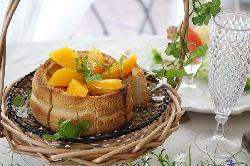 オレンジフレンチトースト