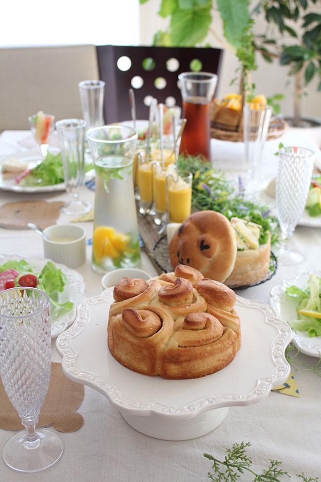 丸くま食パンのレッスン
