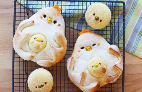 にわとりパン