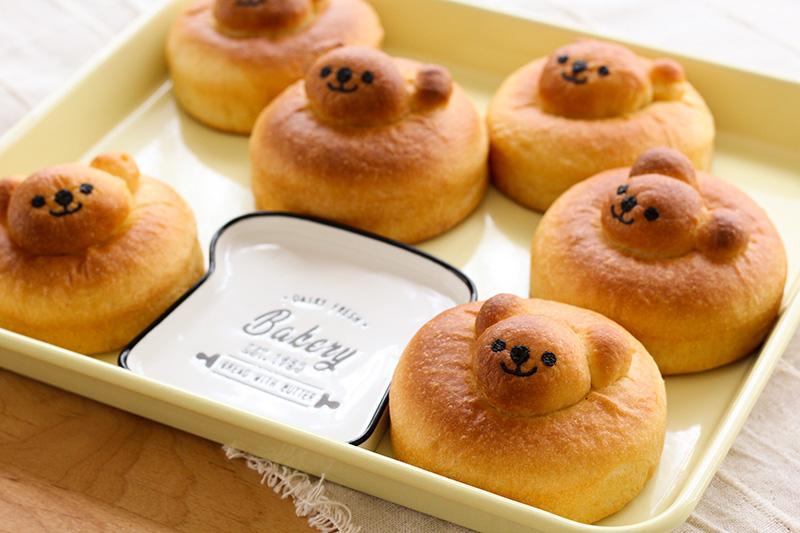 丸くまバンズパン